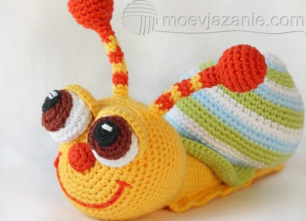 вязание крючком игрушек Moevjazanie