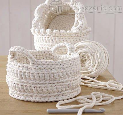 вязание крючком для дома Moevjazanie