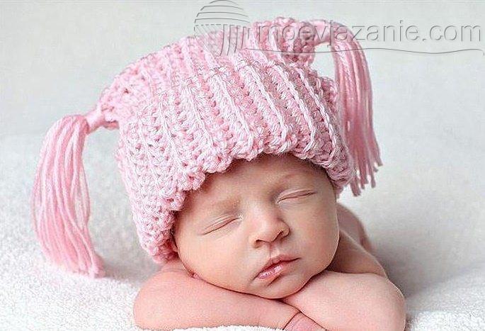 Вязание крючком для новорожденных | MoeVjazanie