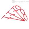 наклонные столбики с накидом - условное обозначение
