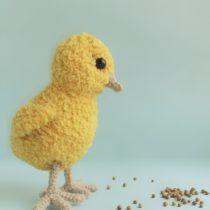 Цыпленок крючком - мастер класс
